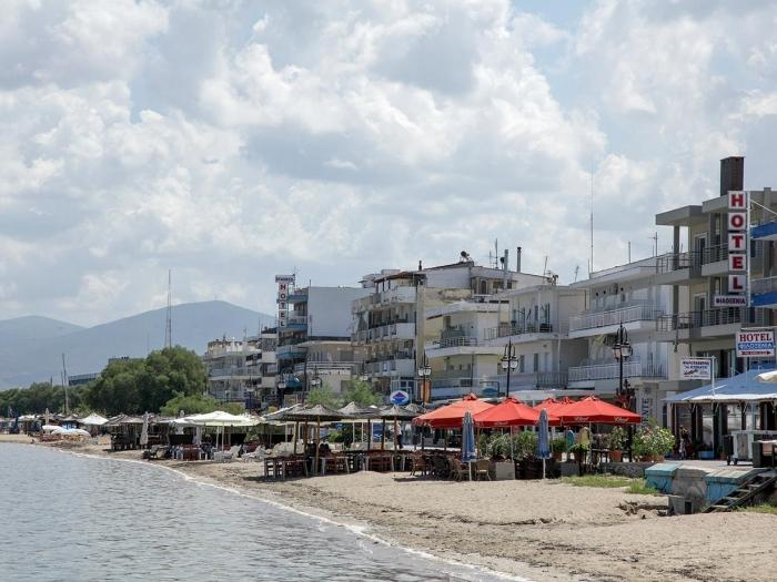 Пляжи города Салоники