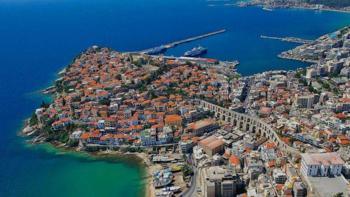 Kavala o la ciudad azul: punto de encuen...